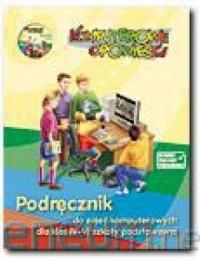 Komputerowe opowieści. Klasa 4-6. Szkoła podstawowa. Podręcznik do zajęć komputerowych (+ CD) - okładka podręcznika