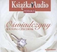 Oświadczyny (CD) - pudełko audiobooku