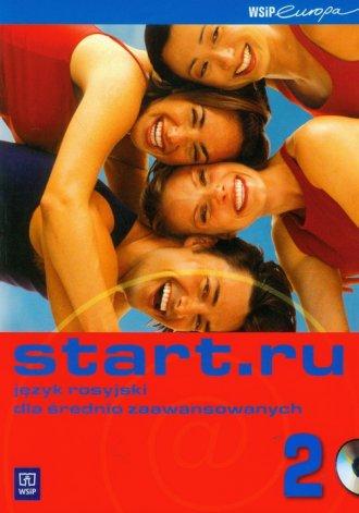 Start.ru 2. Język rosyjski dla - okładka podręcznika