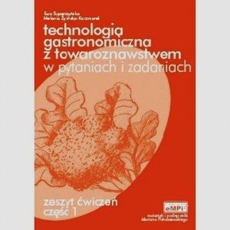 Technologia gastronomiczna ztowaroznawstwem - okładka podręcznika