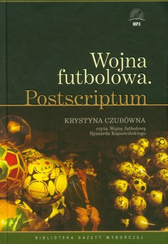 Wojna futbolowa (CD mp3) - pudełko audiobooku