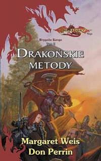 Drakońskie metody - okładka książki