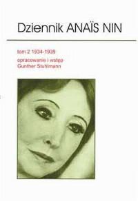 Dziennik Anais Nin. Tom 2 - okładka książki