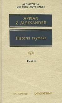 Historia rzymska. Tom 2. Seria: Arcydzieła kultury antycznej - okładka książki