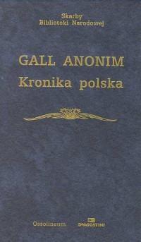 Kronika polska. Seria: Skarby Biblioteki Narodowej - okładka książki