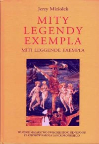 Mity, legendy, exempla - okładka książki