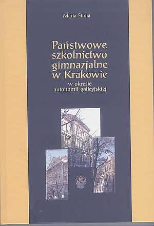 Państwowe szkolnictwo gimnazjalne - okładka książki