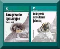 Zarządzanie operacyjne + Podręcznik zarządzania jakością - okładka książki