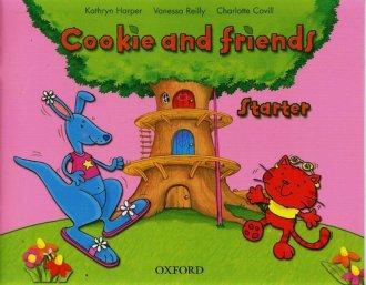 Cookie and friends. Starter - okładka książki