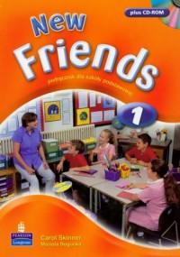 New Friends 1. Klasa 4-6. Szkoła podstawowa. Podręcznik (+ CD) - okładka podręcznika