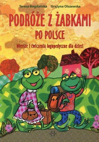Podróże z żabkami po Polsce. Wiersze - okładka książki