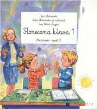 Słoneczna klasa. Klasa 1. Szkoła podstawowa. Ćwiczenia cz. 2 - okładka podręcznika