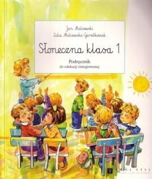 Słoneczna klasa. Klasa 1. Szkoła - okładka podręcznika