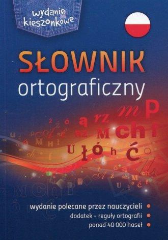 Słownik ortograficzny. Wydanie - okładka książki