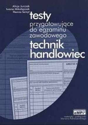 Testy przygotowujące do egzaminu - okładka podręcznika