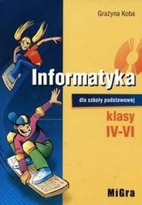 Informatyka. Klasa 4-6. Szkoła podstawowa - okładka podręcznika