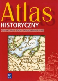 Atlas historyczny dla ucznia. Gimnazjum - okładka podręcznika