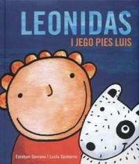 Leonidas i jego pies Luis - okładka książki