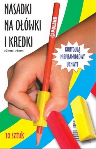 Nasadki na ołówki i kredki - okładka książki