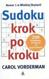 Sudoku krok po kroku - okładka książki