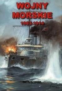 Wojny morskie 1883-1914 - okładka książki