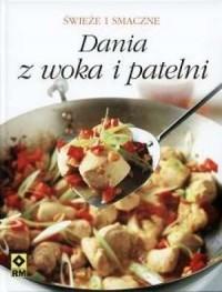 Dania z woka i patelni - okładka książki