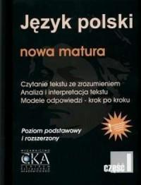 okładka podręcznika - Język polski. Nowa matura. Czytanie