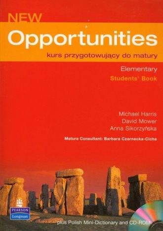 New Opportunities. Kurs przygotowujący - okładka podręcznika