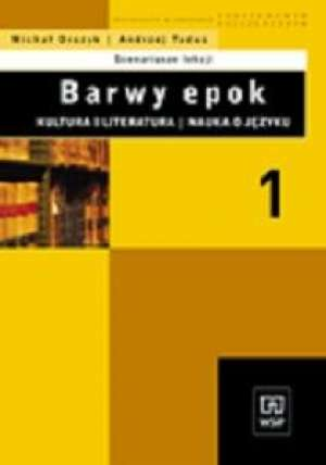 Barwy epok. Kultura i literatura. - okładka książki