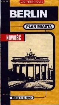 Berlin (plan miasta - skala 1:17 500) - okładka książki