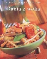 Dania z woka - okładka książki