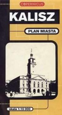 Kalisz (plan miasta 1:15 000) - okładka książki