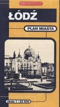 Łódź (plan miasta. Skala 1:22 500) - okładka książki