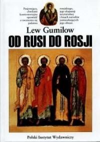 Od Rusi do Rosji - okładka książki
