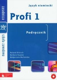 Profi 1. Język niemiecki. Zasadnicza szkoła zawodowa. Podręcznik - okładka podręcznika