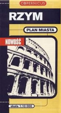 Rzym. Plan miasta (1:10 000) - okładka książki