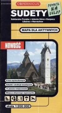 Sudety. Szklarska Poręba, Jelenia Góra, Karpacz, Liberec, Harrachov (skala 1: 200 000) - okładka książki