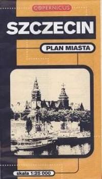Szczecin. Plan miasta (skala 1:25 000). Copernicus - okładka książki