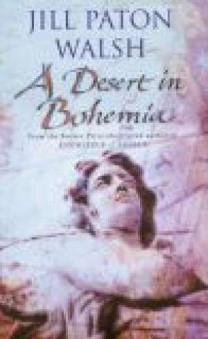 A desert in Bohemia - okładka książki