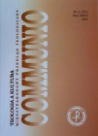Communio nr 3(153)/2006. Teologia a kultura. - okładka książki