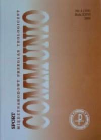 Communio nr 4(154)/2006. Sport - okładka książki