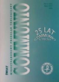Communio nr 6(150)/2005. Świat - okładka książki
