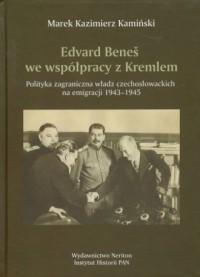 Edvard Benes we współpracy z Kremlem - okładka książki