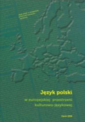 Język polski w europejskiej przestrzeni - okładka książki