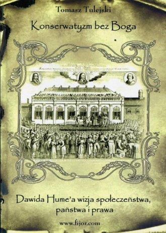 Konserwatyzm bez Boga - okładka książki