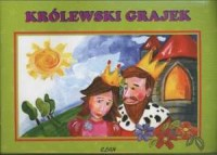 Królewski grajek - okładka książki