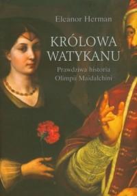 Królowa Watykanu - okładka książki