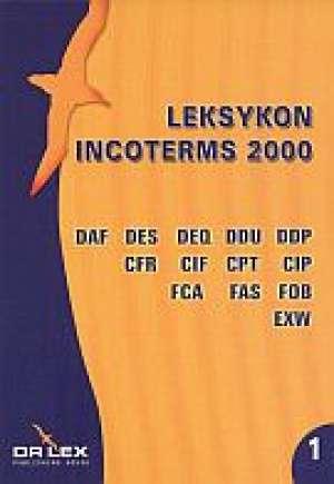 Leksykon Incoterms 2000 - okładka książki