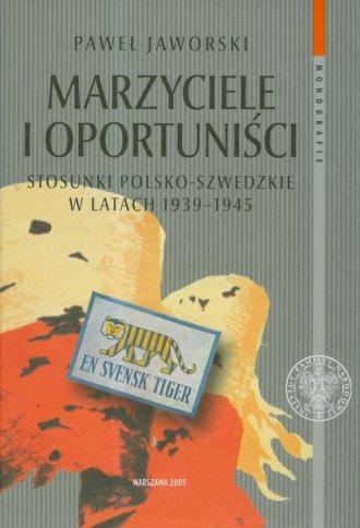 Marzyciele i oportuniści. Stosunki - okładka książki