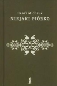 Niejaki piórko - okładka książki
